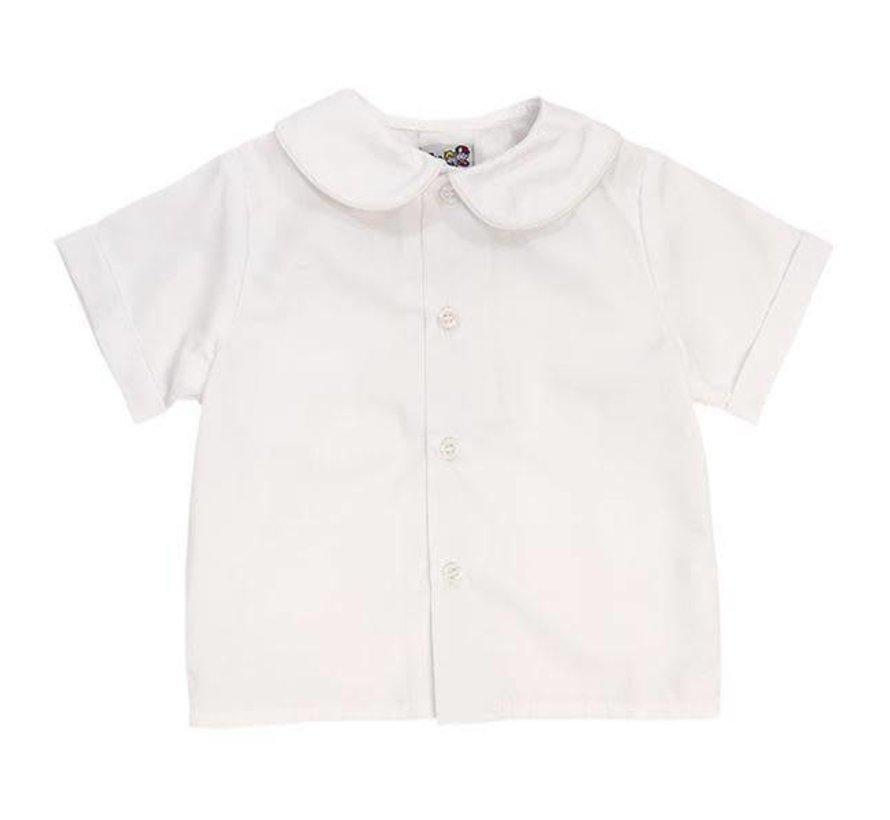 Boys Shortsleeve Piped Shirt