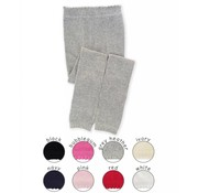 Scallop Pima Cotton Footless Tights
