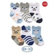 Non-Skid Dog Socks (6 pack)