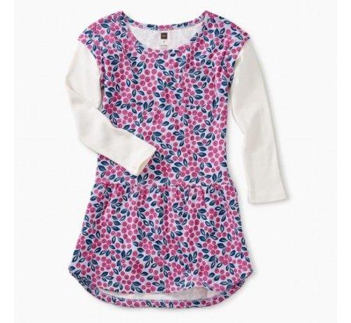 Tea Collection Layered Sleeve Pocket Dress