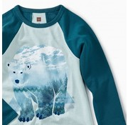 Tea Collection Arctic Bear Raglan Tee