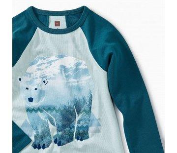 Tea Collection Arctic Bear Raglan Tee