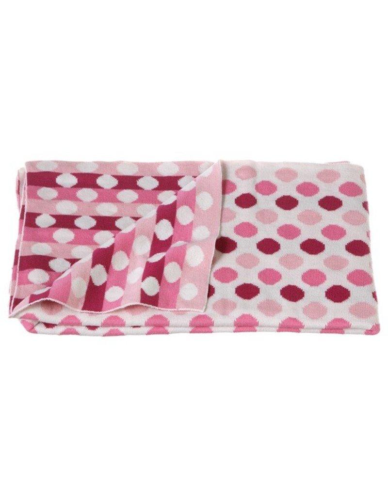 Midwest-CBK Knit Multi Dot Blanket