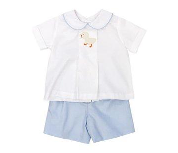 The Bailey Boys Infant Boys Baby Ducks Short Set