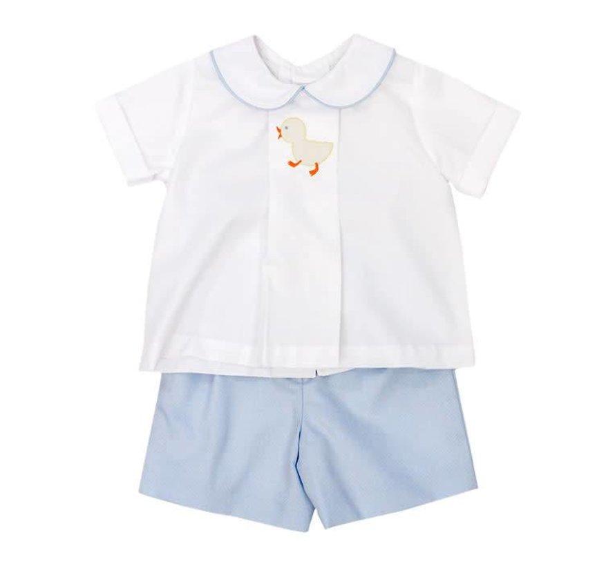 Infant Boys Baby Ducks Short Set