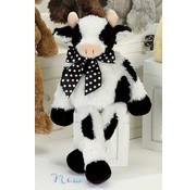 Bearington Baby Bossy Cow Plush