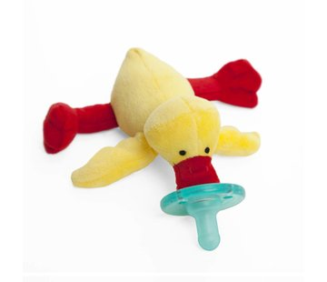 Wubbanub Yellow Duck Wubbanub Pacifier