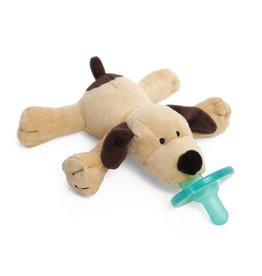Wubbanub Brown Puppy Wubbanub Pacifier