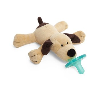 Wubbanub Brown Puppy Wubbanub Pacifier