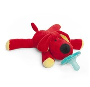 Wubbanub Red Dog Wubbanub Pacifier