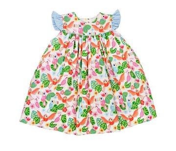 The Bailey Boys Cockatoo Print Float Dress