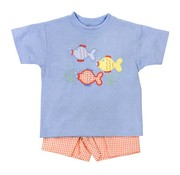 The Bailey Boys Boys Fish Friends Short Set