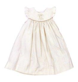 The Bailey Boys Khaki Stripe Float Dress