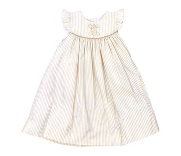 The Bailey Boys Khaki Stripe Float Dress