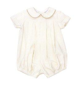 The Bailey Boys Baby Boy Khaki Stripe Bubble