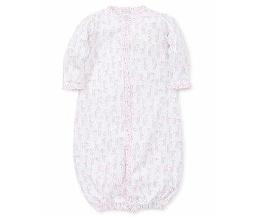 Kissy Kissy Pink Giraffes Print Convertible Gown