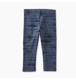 Tea Collection Tie Dye Capri Leggings in Indigo
