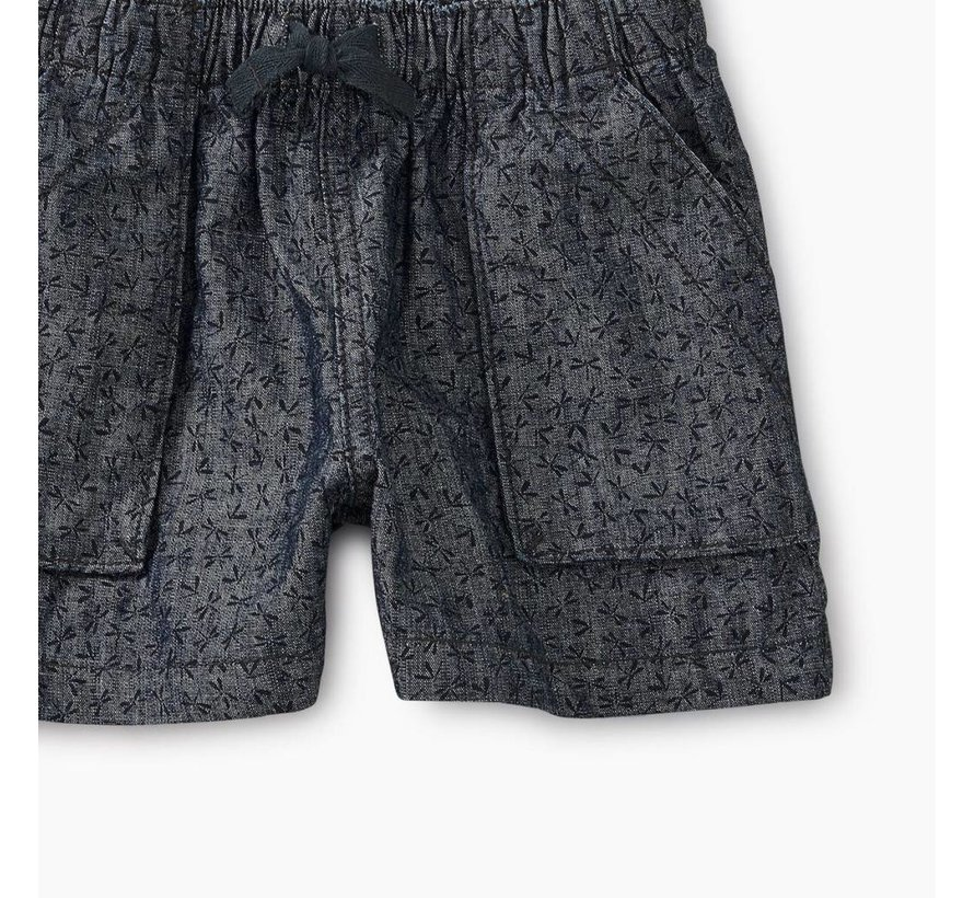 Girls Dragonfly Ditsy Pull-On Short