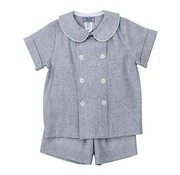 The Bailey Boys Windsong Linen Dressy Short Set
