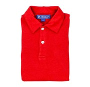 The Bailey Boys Short Sleeve Red Polo