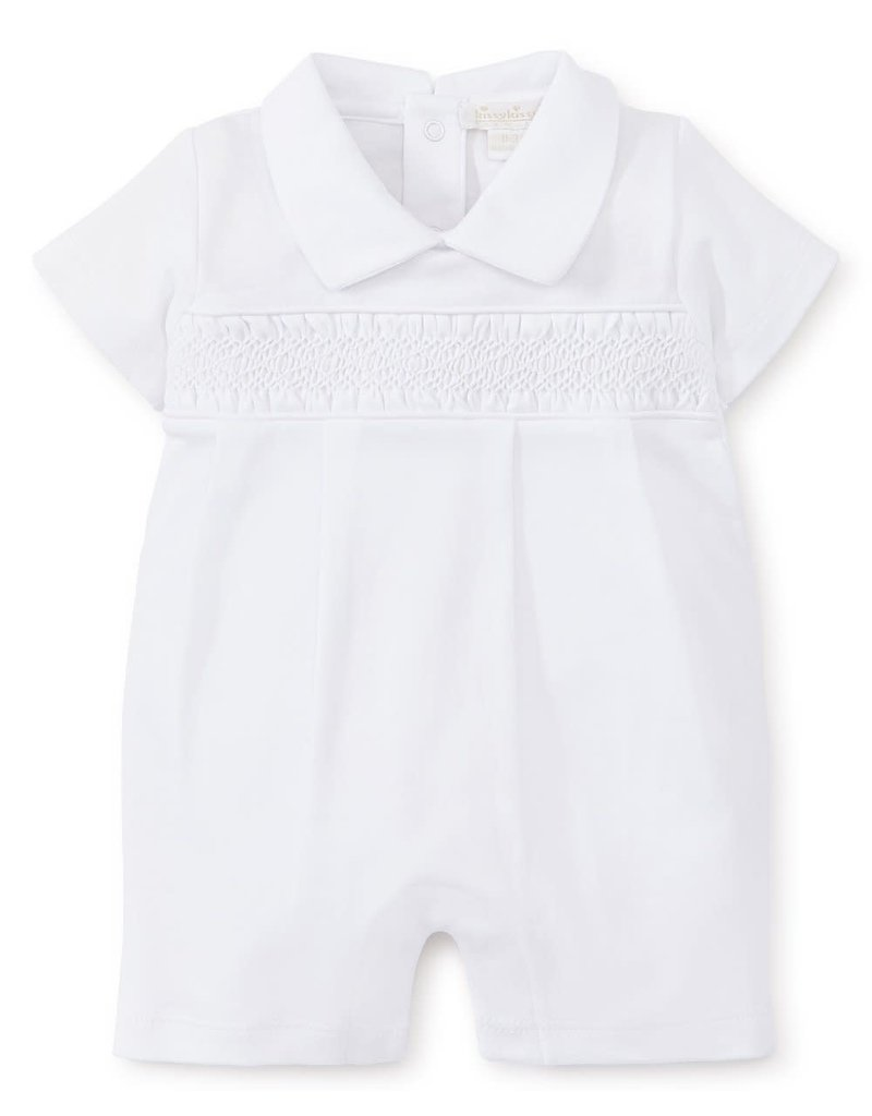 Kissy Kissy Short Play Suit White