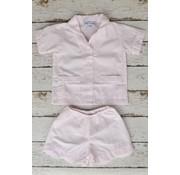 Sweet Dreams Shortsleeve Pink Stripe Pajamas