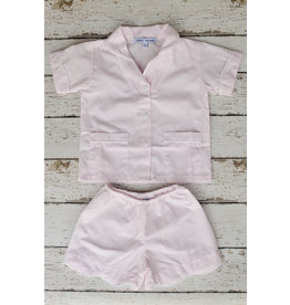 Sweet Dreams Shortsleeve Pink Stripe Pajamas