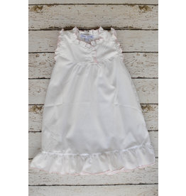 Sweet Dreams Pink Picot Trim Gown