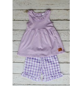 Millie Jay Lilac Clair Short Set
