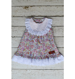Millie Jay Unicorn Bib Ruffle Dress