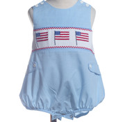 Smocked Flags Bubble