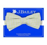 J Bailey Castaway Seersucker Bow Tie