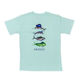 The Bailey Boys Sports Fish Tshirt on Seaglass