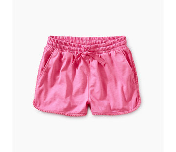 Tea Collection Pom Pom Dolphin Shorts in Sweet Pea