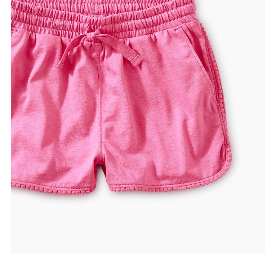Pom Pom Dolphin Shorts in Sweet Pea