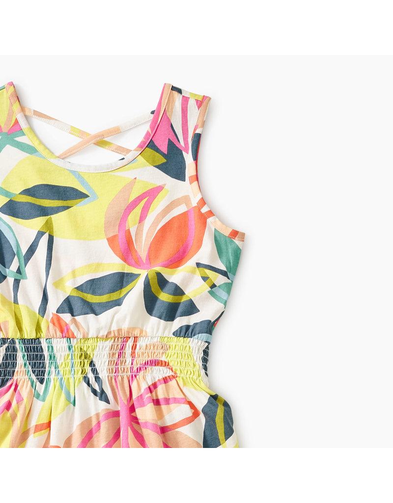 Tea Collection Printed Hi Lo Tank Dress