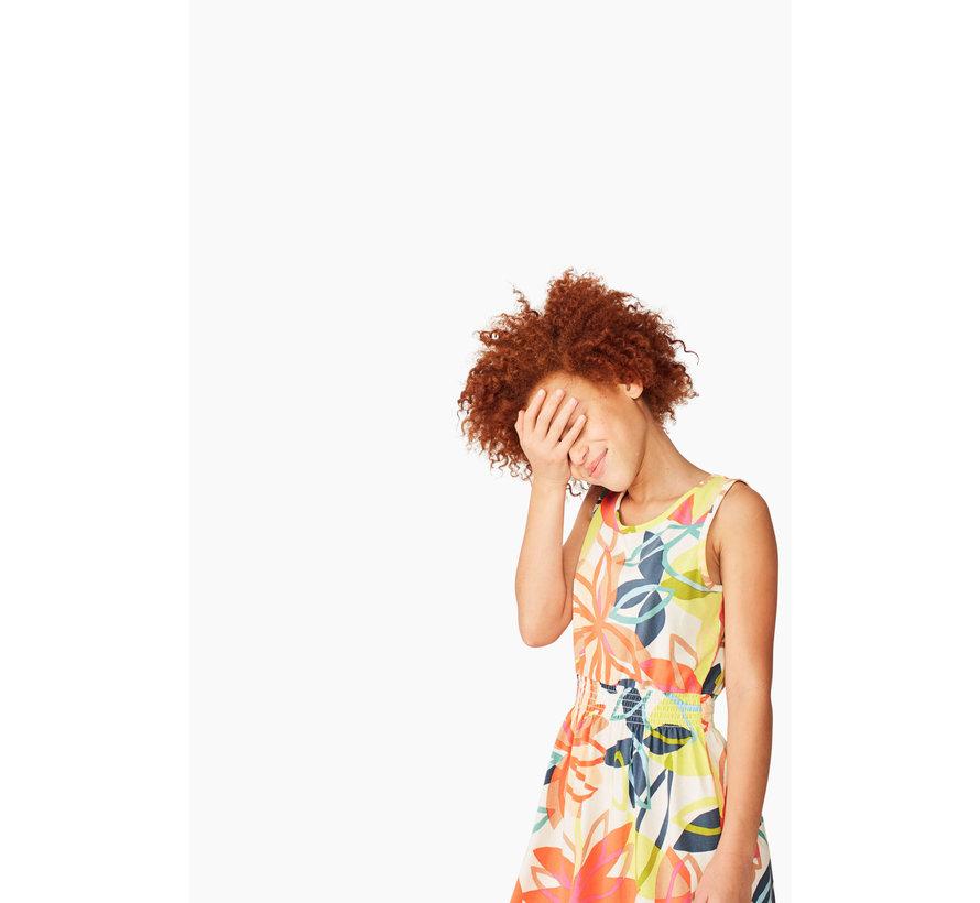 Printed Hi Lo Tank Dress