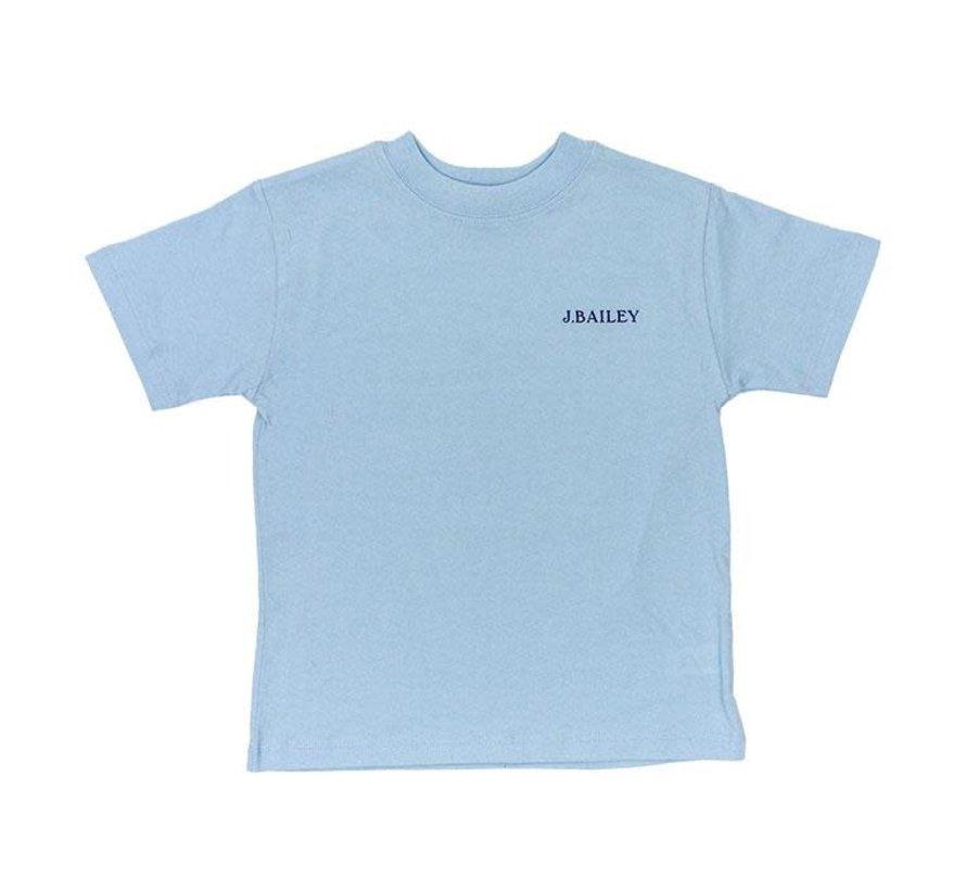 Beach Tshirt on Aqua
