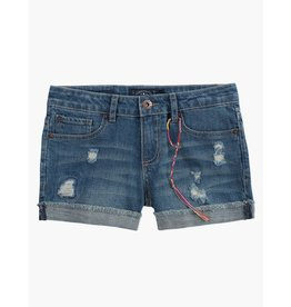 Lucky Brand Ronnie Cuffed Denim Shorts