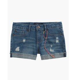 Lucky Brand Ronnie Cuffed Denim Shorts