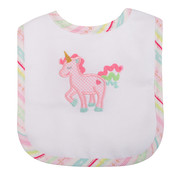 3 Marthas Unicorn Feeding Bib
