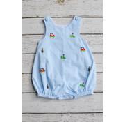 Zuccini Golf Embroidered Boy Sunsuit