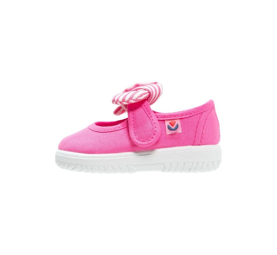 Canvas Bow Sneaker