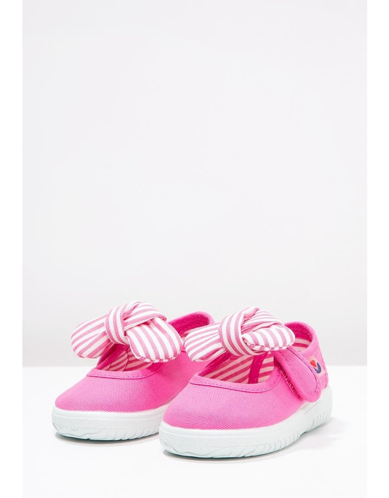 Victoria Canvas Bow Sneaker