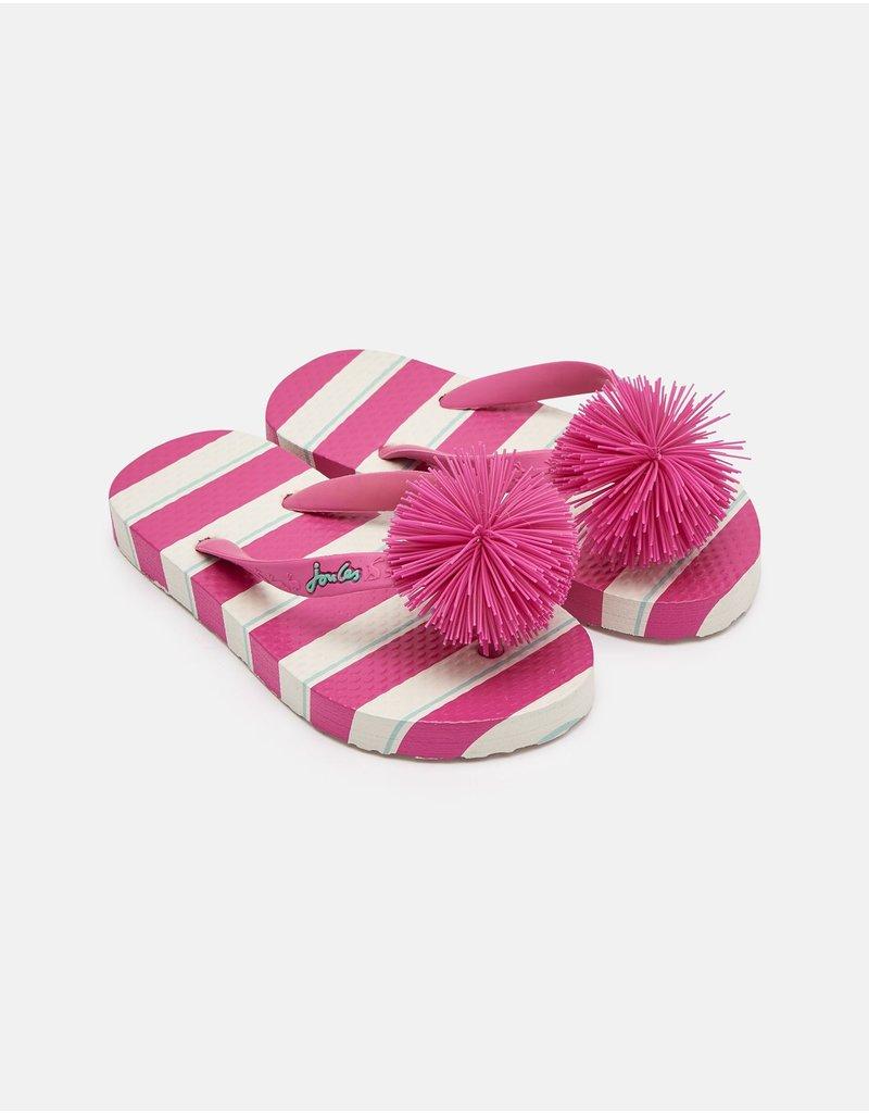 Joules Printed Flip Flops