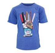 Wes & Willy Baseball Equipment SS Tee Blue Moon