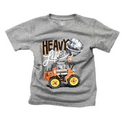 Wes & Willy Heavy Lifter SS Tee Charcoal