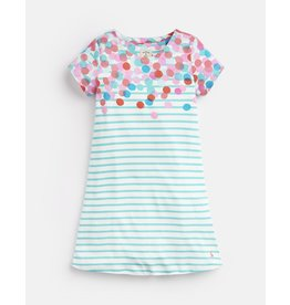 Joules Riviera Luxe Short Sleeve Dress