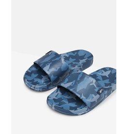 Joules Poolside Slider Sandal in Blue Shark
