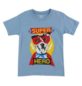 Wes & Willy Hero Dog Short Sleeve Tee